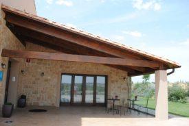 estructuras de madera, cubiertas de madera, tejados de madera, construcción en madera